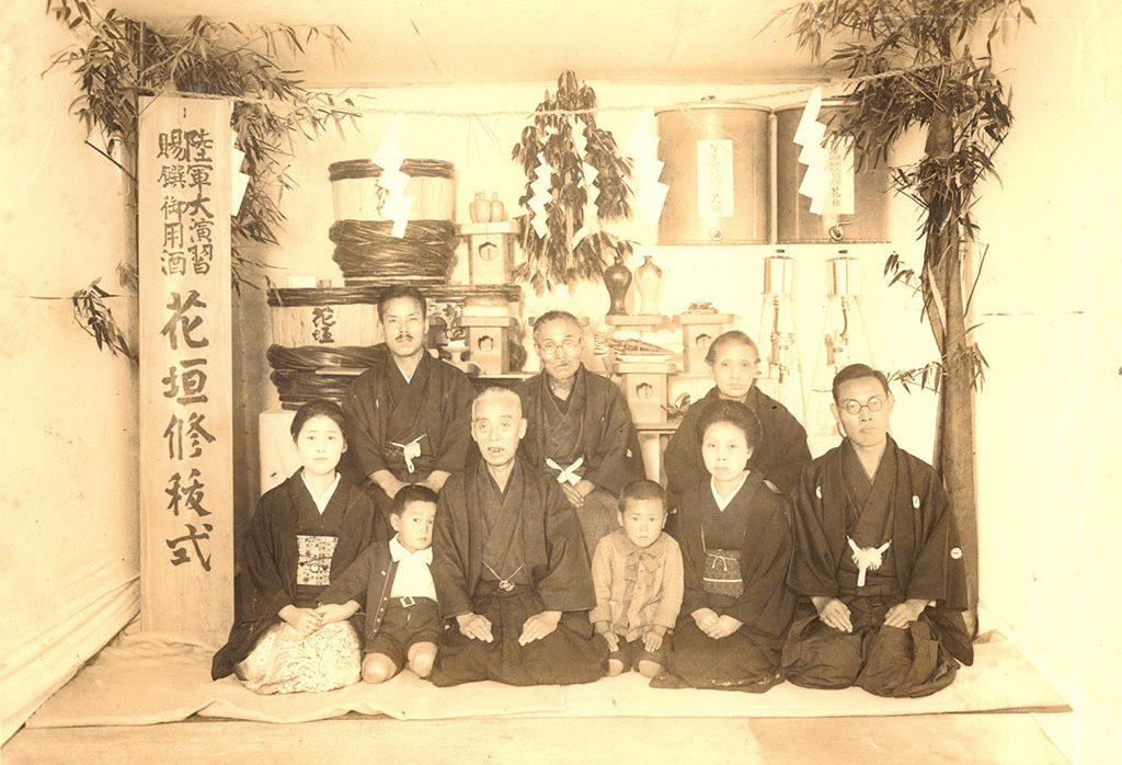 1933(昭和8)年 福井で行われた陸軍特別大演習に「御賜撰酒」として納入