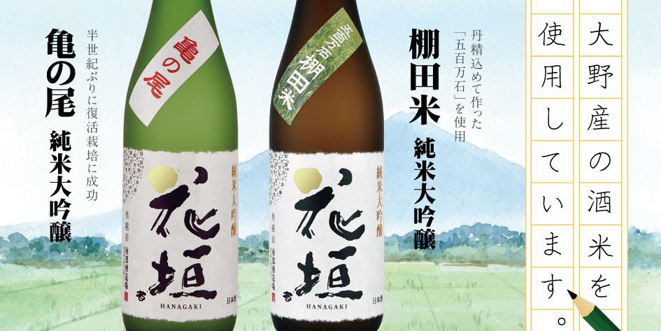 このお酒は、大野の気候と風土の味がしますっ!